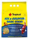 Koi & Goldfish Basic Sticks 5 litros